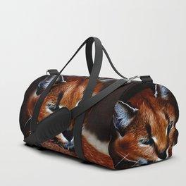 Karakul wildcat Duffle Bag