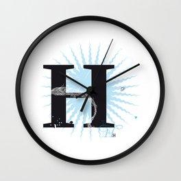 H like Heidi, Harry, Halloween… Wall Clock
