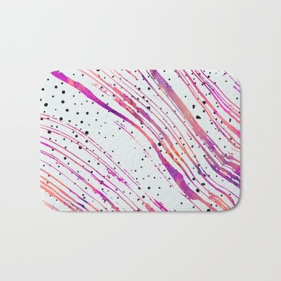 The Rising Form V2#society6 Bath Mat