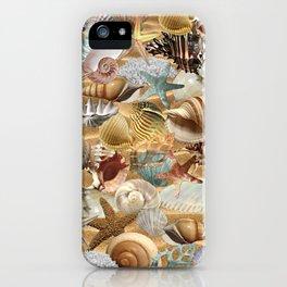 Sea Shell Mania iPhone Case
