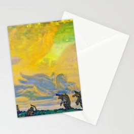Nicholas Roerich - The Great Sacrifice, Setting For I F Stravinskys Ballet, Sacred Spring Stationery Cards