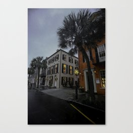 Charleston Rainy Holiday Canvas Print