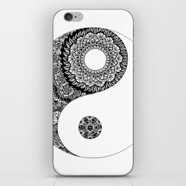 Ying Yang iPhone Skin