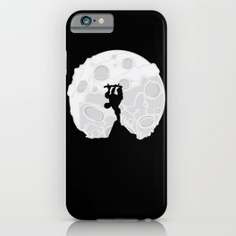 Skater Moon iPhone Case