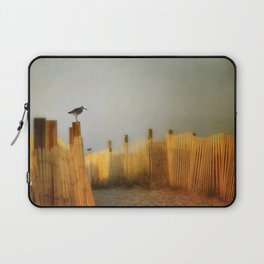be still and breathe Laptop Sleeve