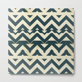 Broken chevron Metal Print