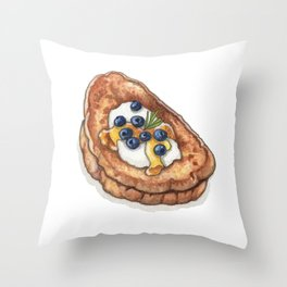 Breakfast & Brunch: French Toast Throw Pillow