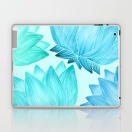 Lotus Love II / Zen Teal Palette Laptop & iPad Skin