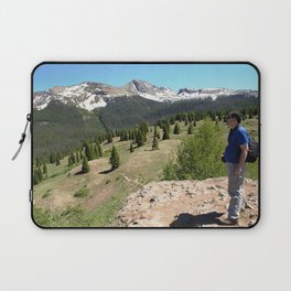 Surveying the Grandeur from Molas Pass, at 10,910 feet Laptop Sleeve