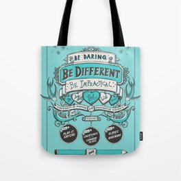 Be Daring, Be Different... Tote Bag