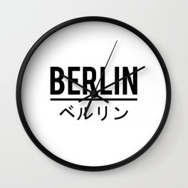 Berlin City Wall Clock