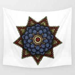 nautical mandala swirl Wall Tapestry