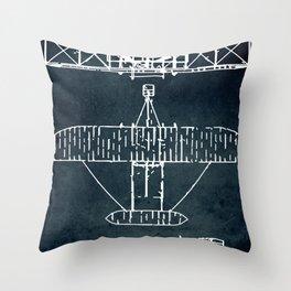 SUPERMARINE SPITFIRE - First flight 1936 Throw Pillow