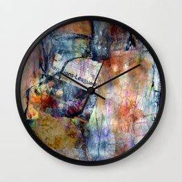 EliB Novembre 5 Wall Clock