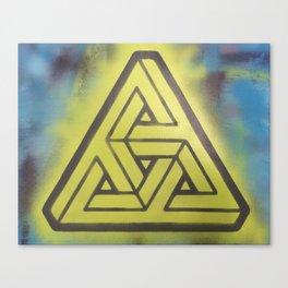 Penrosian Triad Canvas Print