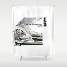 1/2 Shower Curtain