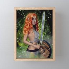 BRIGID Framed Mini Art Print