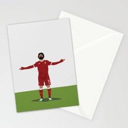 Mo Salah - Liverpool Player - Salah Football Poster Stationery Cards