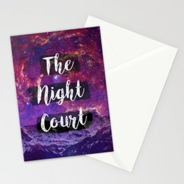 Welcome to The Night Court Stationery Cards