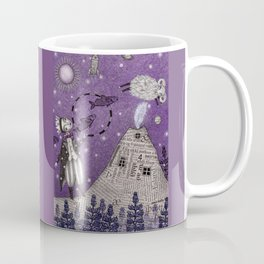 When the Little Prince came to Iceland Coffee Mug