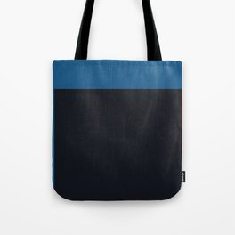 Blue and red composition XXII Tote Bag
