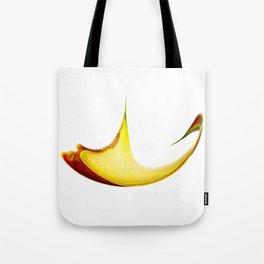 Warped Calla Lily Tote Bag