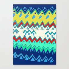 Rad Pattern Canvas Print