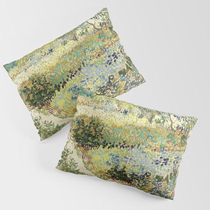 Vincent Van Gogh : Garden at Arles Kissenbezug