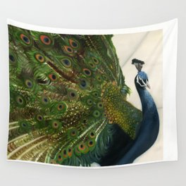 Peacock Feathers Wall Tapestry