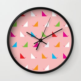 Triangled 07. 'Candy' Wall Clock