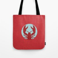 lobster Tote Bags featuring Lobster by Mr & Mrs Quirynen