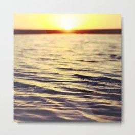 Sunset at Bodega Metal Print