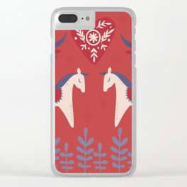 Swedish Christmas 2 Clear iPhone Case