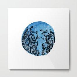 Aquarium Sasi Metal Print