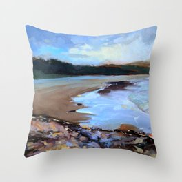 into the silent water Throw Pillow