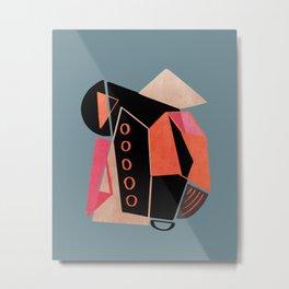 Modern minimal forms 33 Metal Print