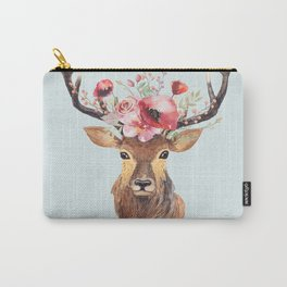 Bohemian Deer 2 Carry-All Pouch