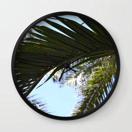 Palm Wall Clock