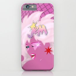 one Truly Outrageous night only - Jem glam poster iPhone Case