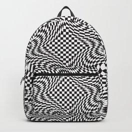 Checkered Warp Backpack