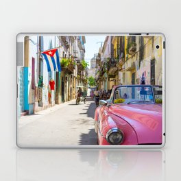 Colorful building streets in Cuba Laptop & iPad Skin