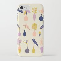 plants iPhone & iPod Cases featuring Plants by Sofia Noceti