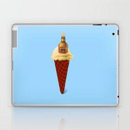 Whiskey. Ice cream Laptop & iPad Skin
