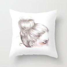 Loveland // Fashion Illustration Throw Pillow