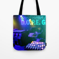 Electric Sound Tote Bag