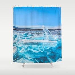 Treasure of Baikal Shower Curtain