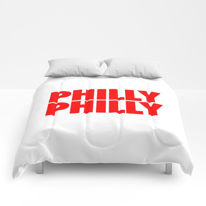 Philly Philly Alt Eagles Comforters By Stageart Society6