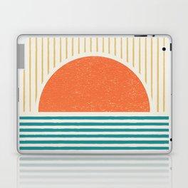 Sun Beach Stripes - Mid Century Modern Abstract Laptop & iPad Skin