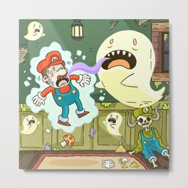 Super Mario Party Metal Print