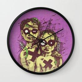 Happiness II Wall Clock